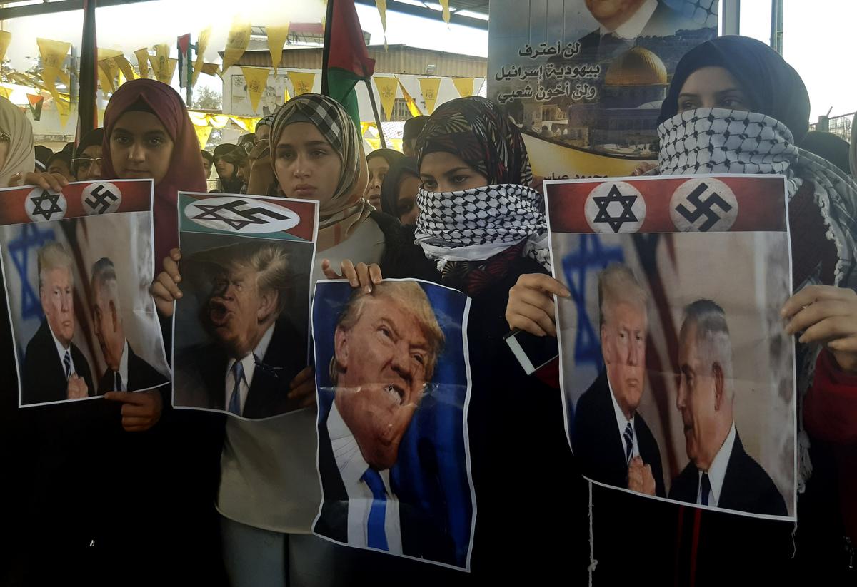 中東和平を選挙に利用した2人、米イスラエル首脳の裏の思惑 WEDGE ...