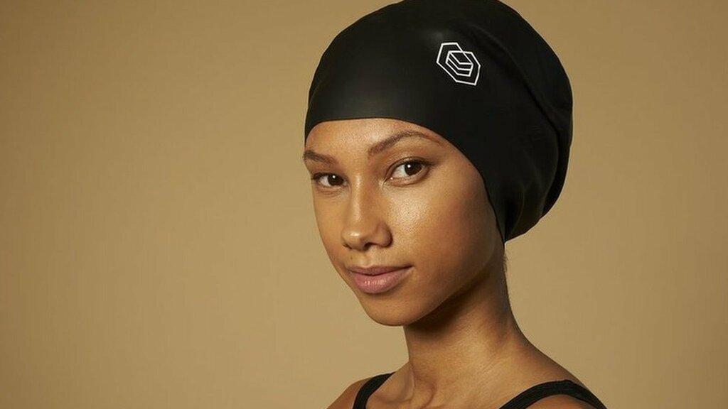 アフロ髪に適した水泳帽、オリンピックで認めず 国際水泳連盟